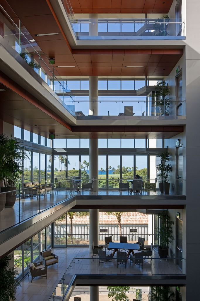 The University Of Hawaii Cancer Center Is A 160000 Square Foot Research Facility That Employs Matrix Style Clinical Care